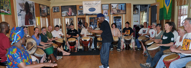 Mamady Keita Djembe Workshop